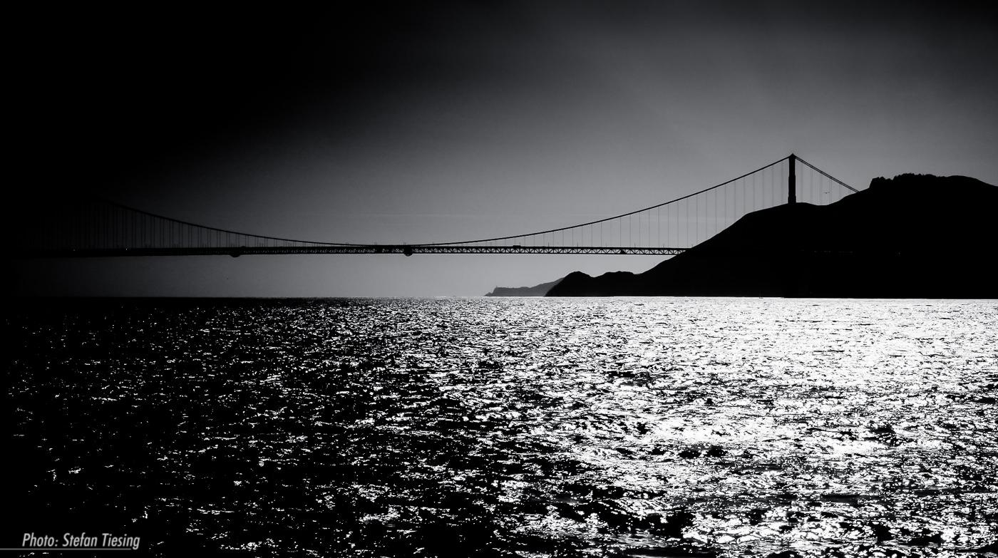 Black & White Gate Bridge