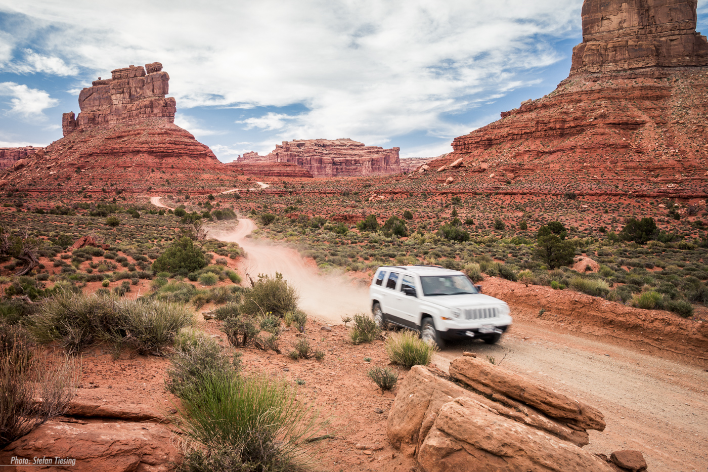 Dirt Road at Valley of the Gods