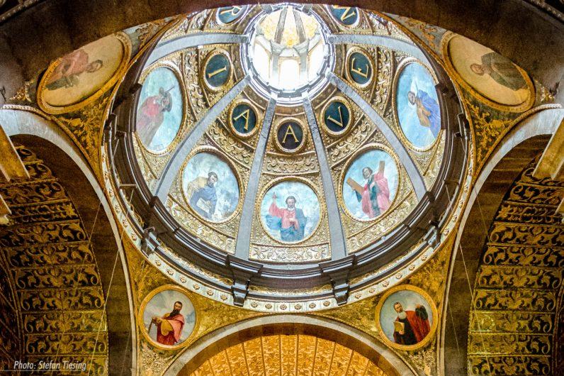 Dome of Santuari des Lluc