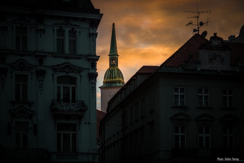 Lighting of St. Martin's Cathedral, Bratislava