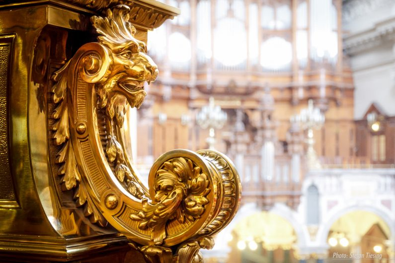 Mythical Creature at Berlin Cathedral