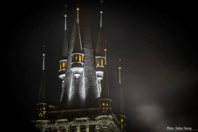 The Black Castle (Church of Our Lady before Tyn, Prague)