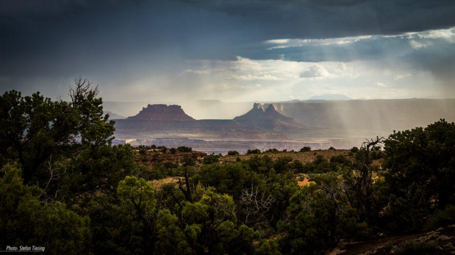 Thunderstorm over Canyonlands National Park