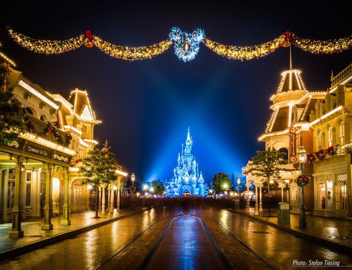 Disneyland Paris Xmas 2014