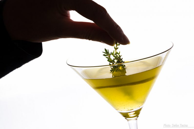 Thymian-Zitronen-Martini
