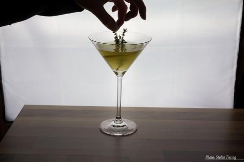 Thymian-Zitronen-Martini (MakingOf) 1
