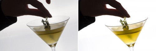 Thymian-Zitronen-Martini (MakingOf) 2