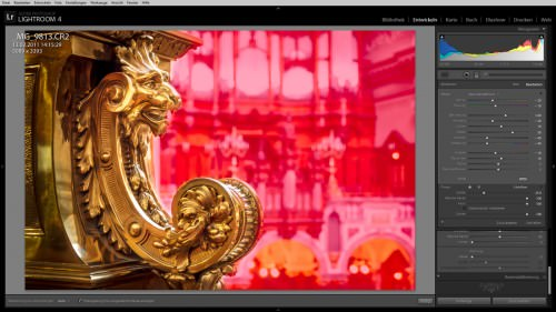 Mythical Creature at Berlin Cathedral (MakingOf) 01