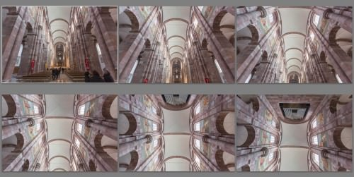 Nave of Speyer Cathedral (MakingOf) 01