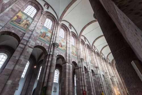 Nave of Speyer Cathedral (MakingOf) 03