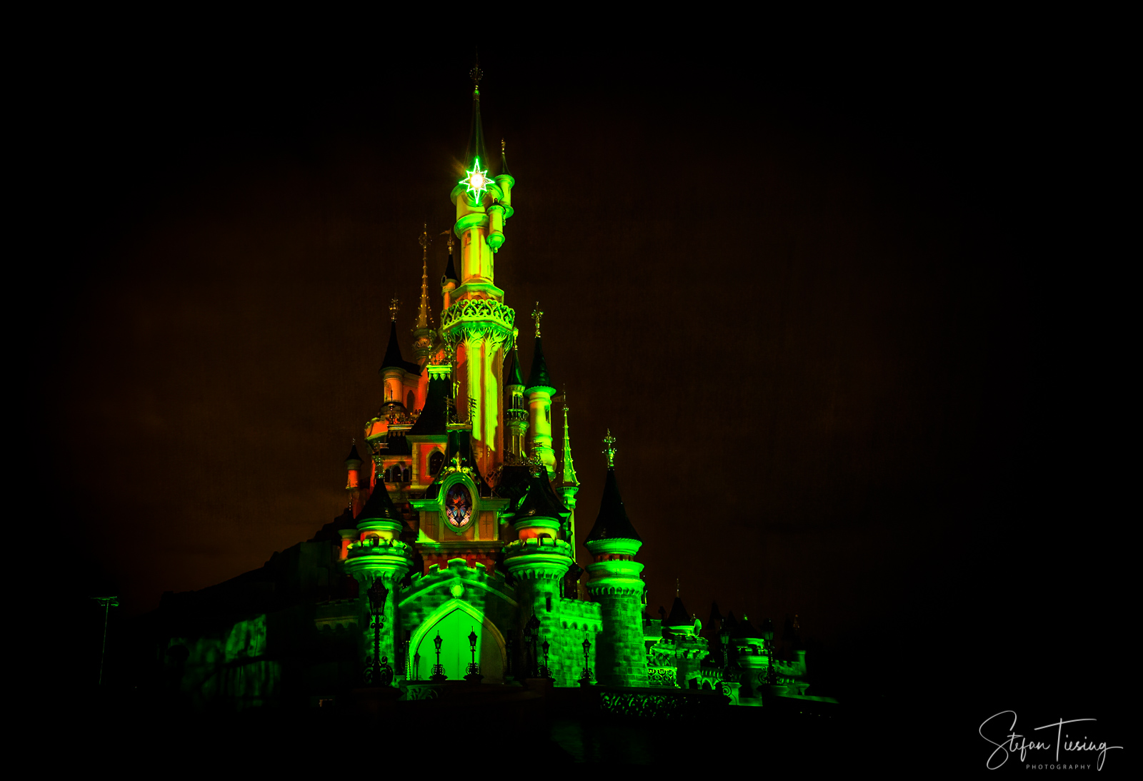 Schloss im Disneyland Paris