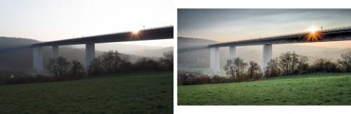 Jagsttalbrücke and rising damp (MakingOf) 02