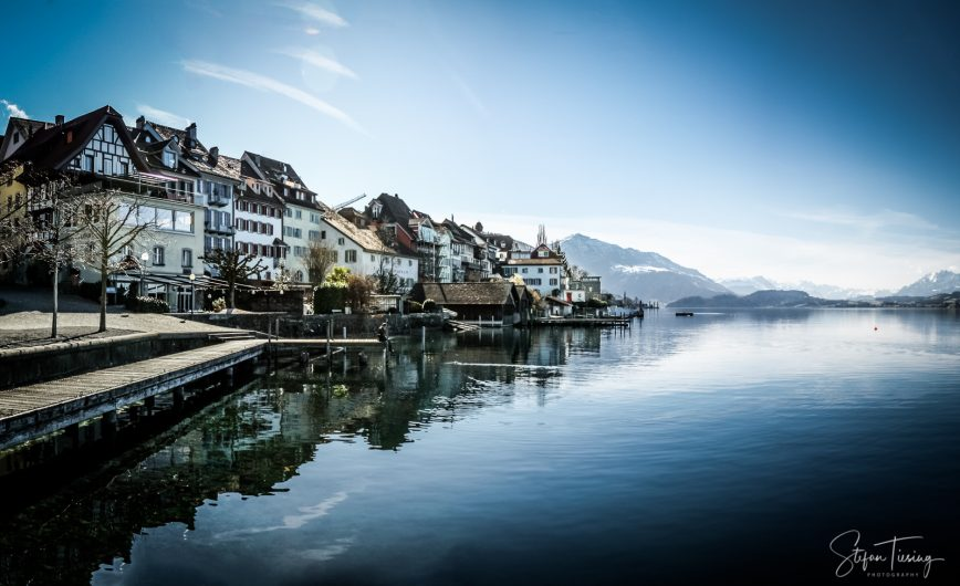 Winter Day at Lake Zug