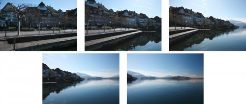 Winter Day at Lake Zug (MakingOf) 01