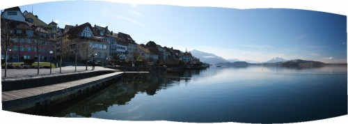 Winter Day at Lake Zug (MakingOf) 02