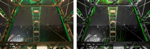 Green Ferris Wheel (Prater, Vienna) (MakingOf) 01