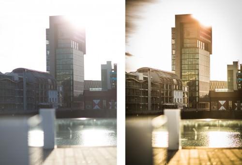 Düsseldorf DOCK on a warm summer evening (MakingOf) 01