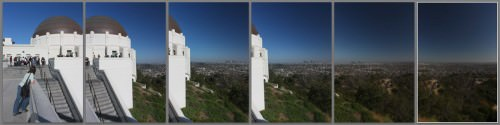 Griffith Observatory and View over Los Angeles (MakingOf) 01