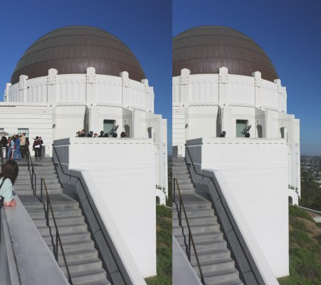 Griffith Observatory and View over Los Angeles (MakingOf) 02