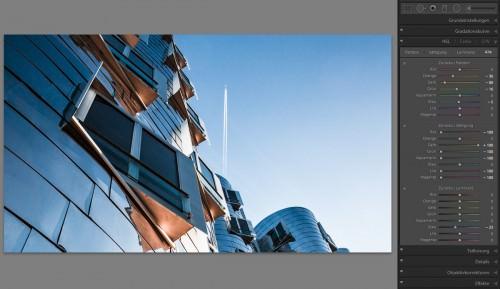 Blue Sky Fly (Gehry-Bauten Düsseldorf) (MakingOf) 02