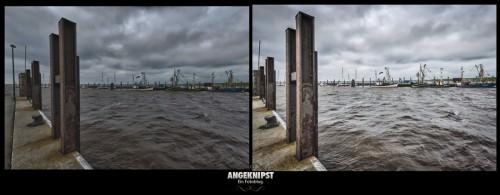 Schlüttsiel Harbour (MakingOf) 02