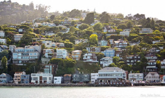 Sunken Bridge (Golden Gate Bridge View from Sausalito) (MakingOf) 01