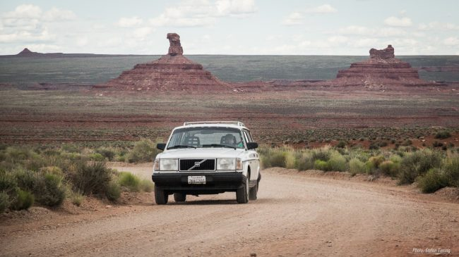 Dirt Road at Valley of the Gods (MakingOf) 1