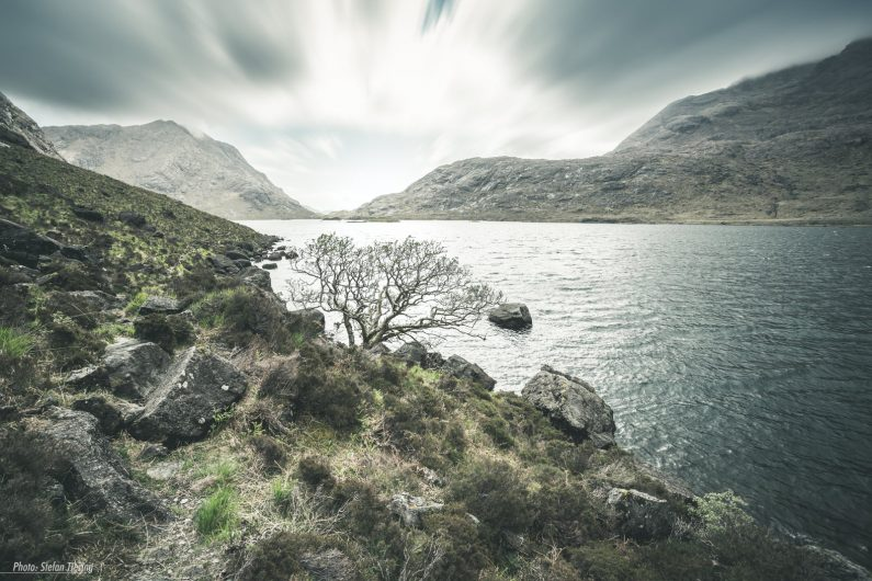 Storm at Loch Coruisk