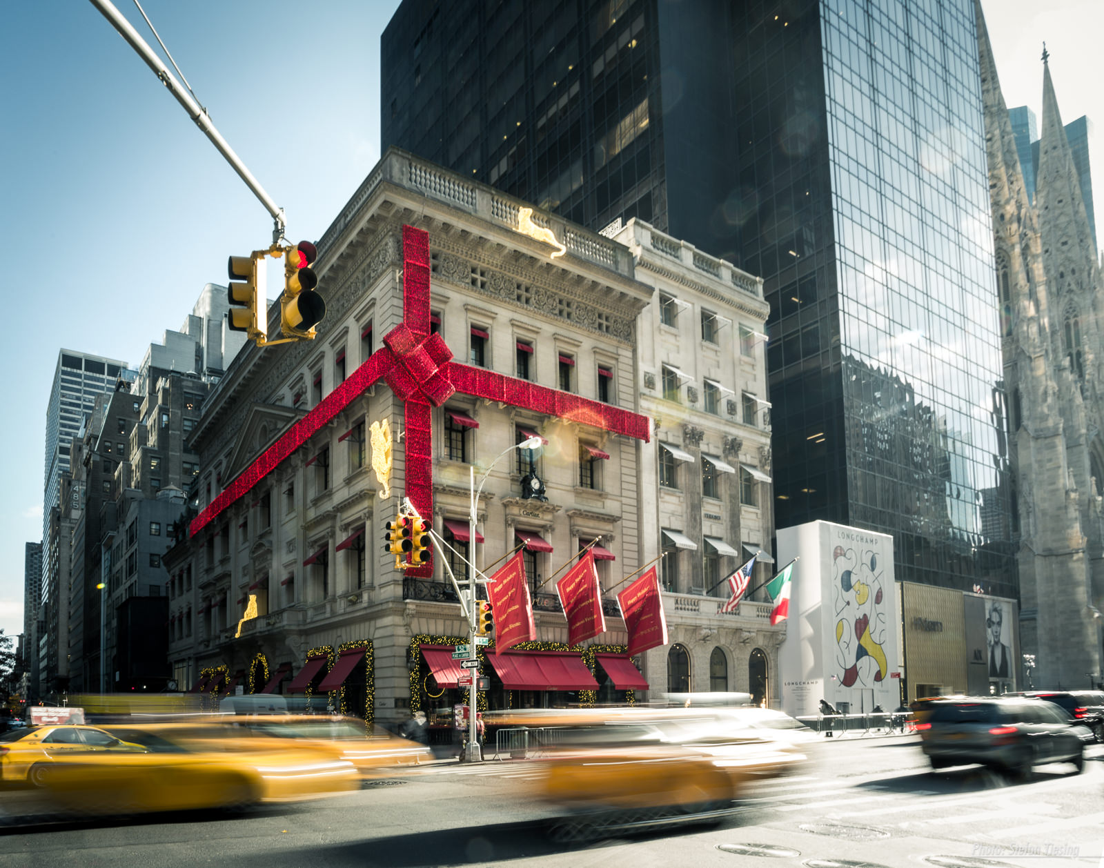 Xmas at Place de Cartier (5th Avenue, New York)