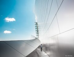Blue Sky & Stainless Steel (Walt Disney Concert Hall)