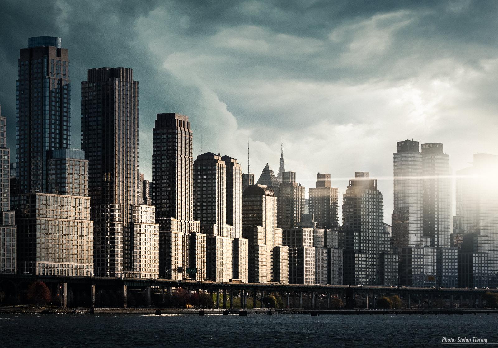 Upper West Side Skyline (Riverside Park)