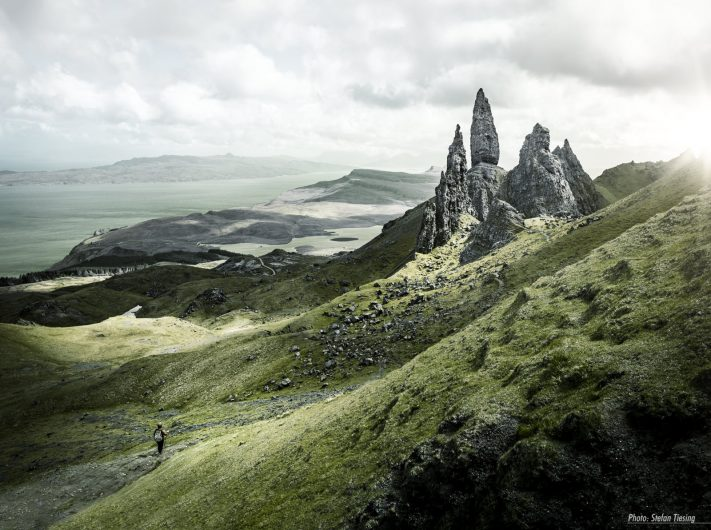 Old Man of Storr and his Family