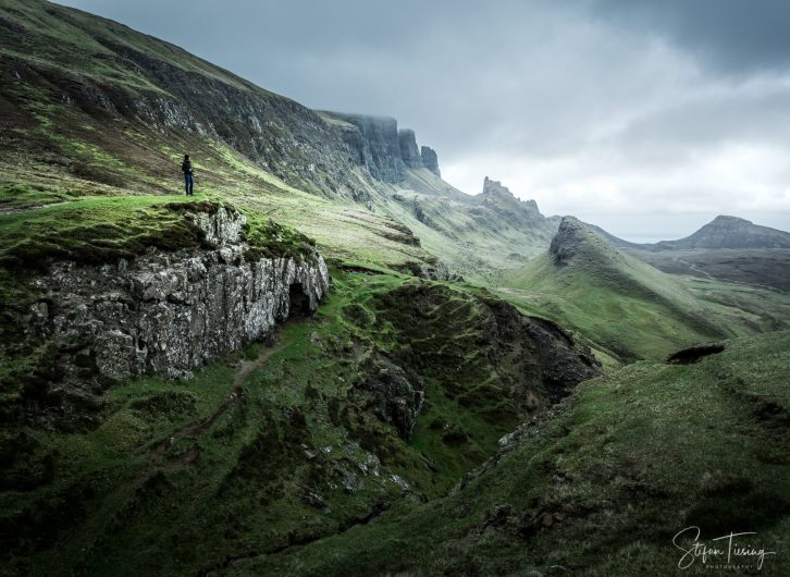 Quiraing View and Scottish Weather