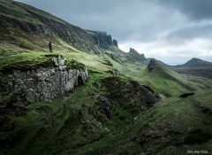 Quiraing View and Scottish Weather