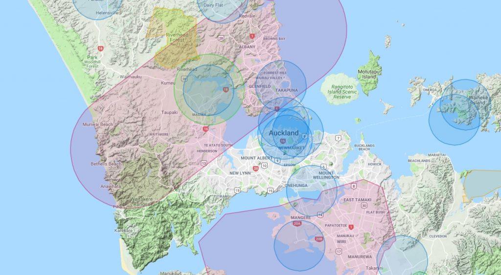 Vorsicht: Es gibt viele Flugverbotszonen für Drohnen in Neuseeland