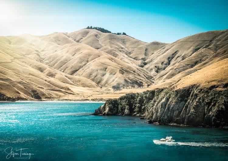 Okukari Bay at Arapawa Island (New Zealand)
