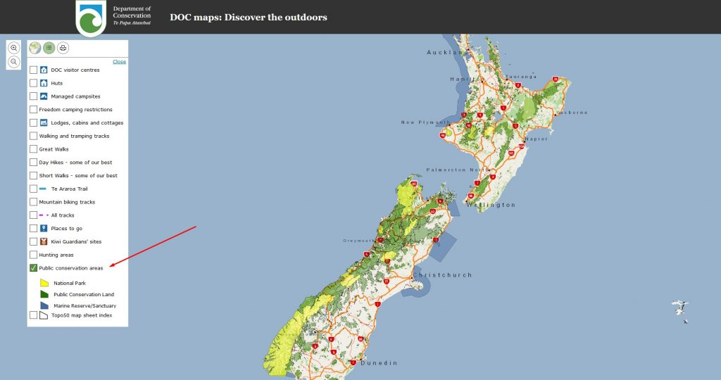 Drohne fliegen im Naturschutzgebiet in Neuseeland?