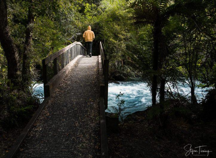Bridge to Tarawera Falls