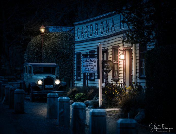 Cardrona Hotel at Night