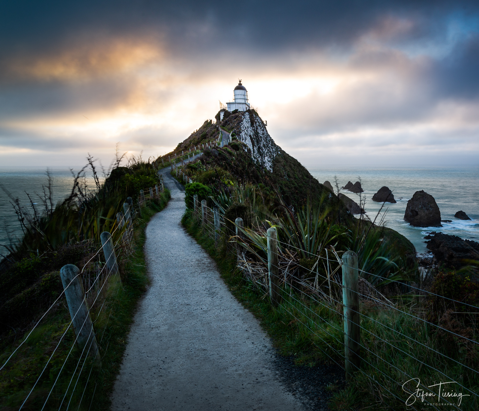 Sunrise at Nugget Point Lighthouse