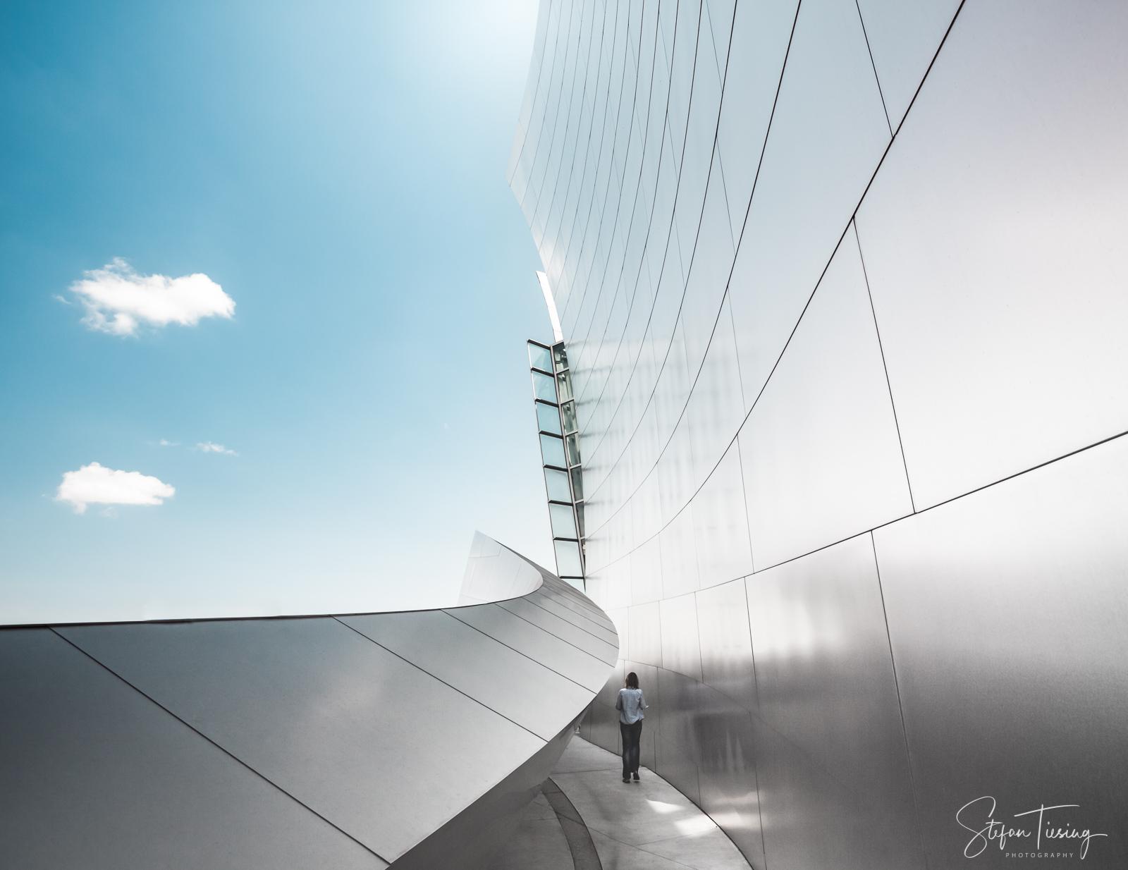 Blue Sky & Stainless Steel (Walt Disney Concert Hall)