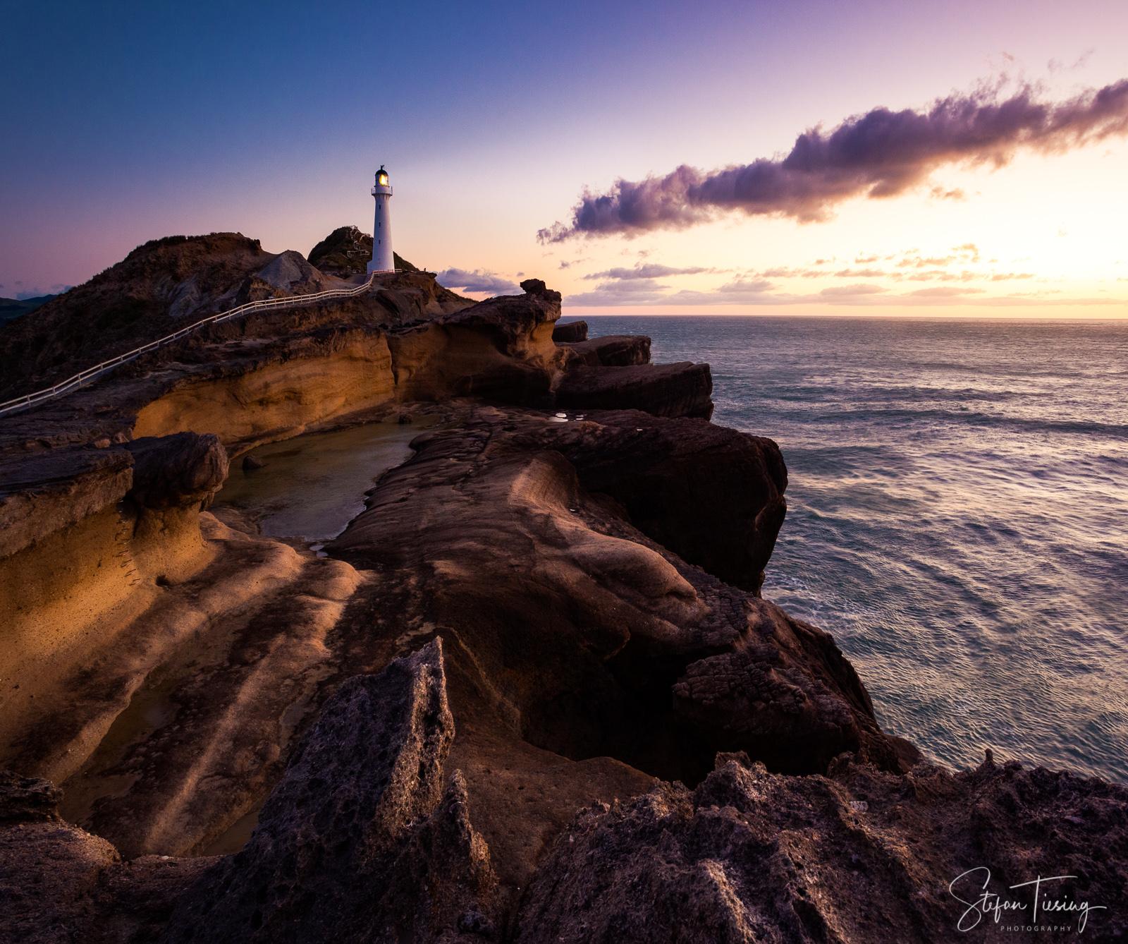 Magic Light at Castlepoint Lighthouse