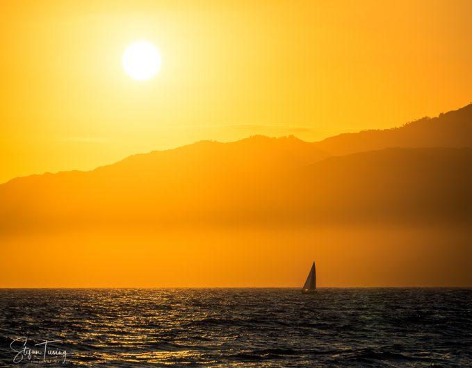 Malibu Hills Sunset