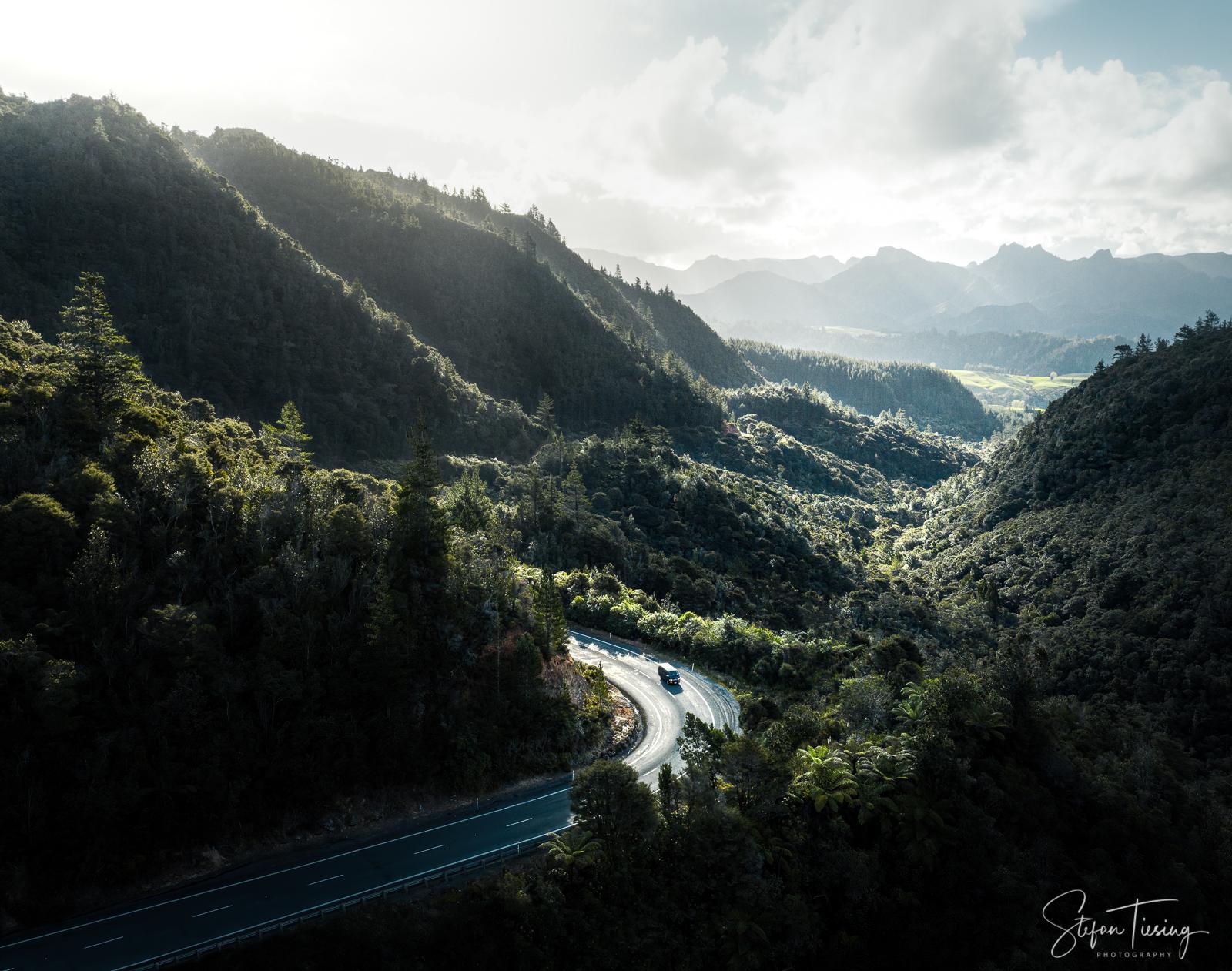 Hikuai Valley at Coromandel Peninsula