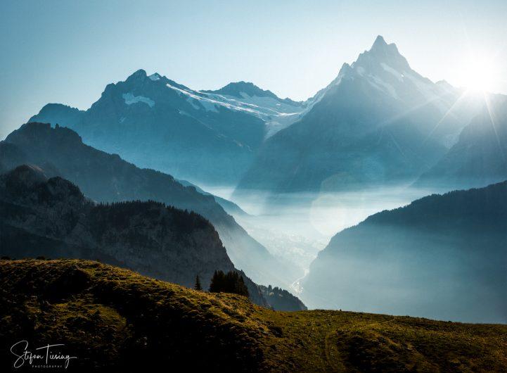 Fog over Grindelwald