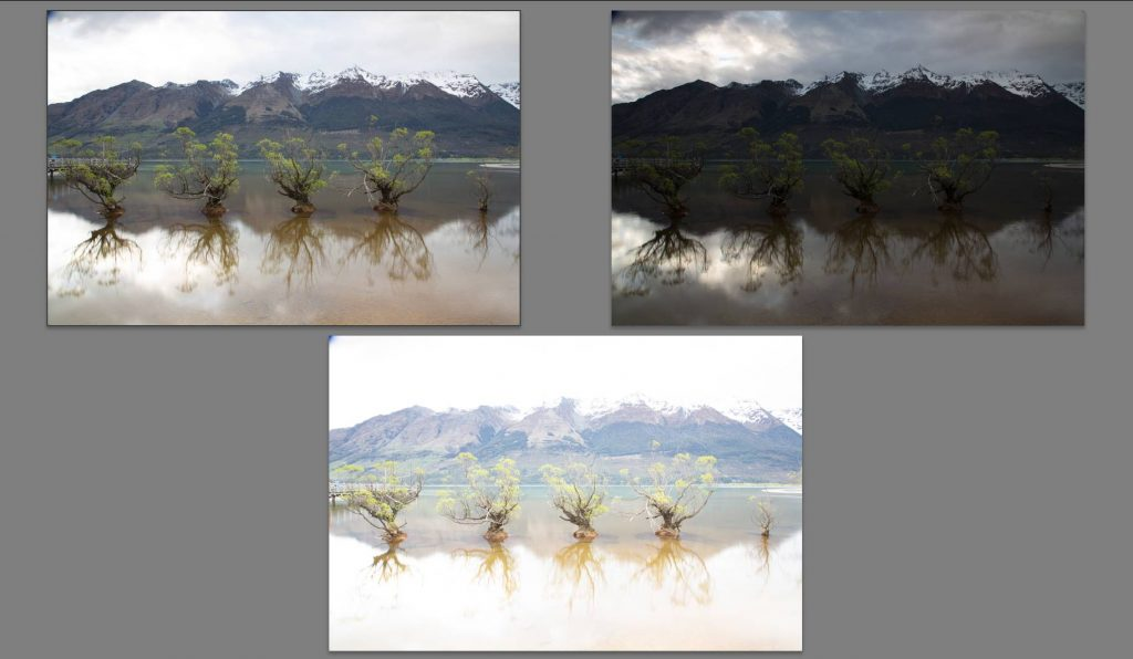 Screenshot von HDR-Aufnahmen der Willow Trees of Glenorchy