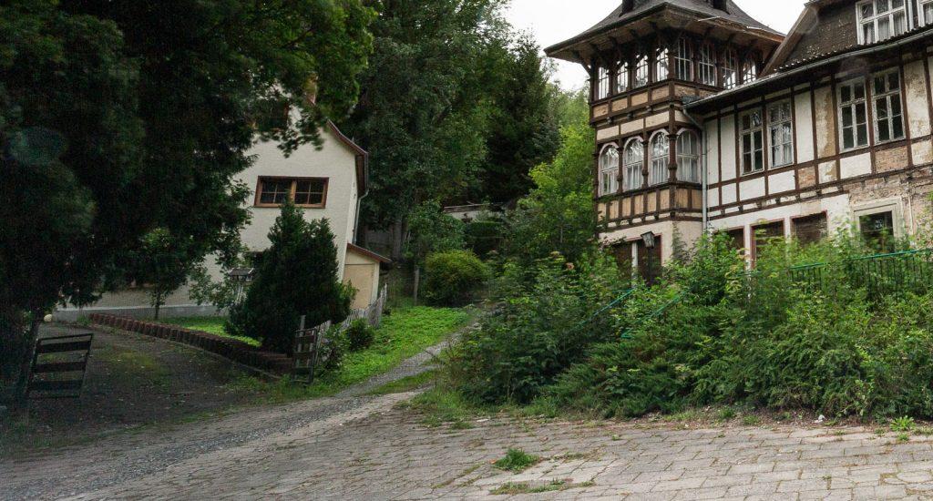 Gebäude neben dem Reichsbahnerholungsheim in Alexisbad