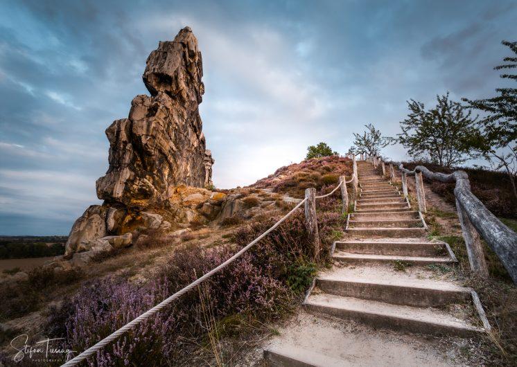 Steps to the Devil – Teufelsmauer near Thale