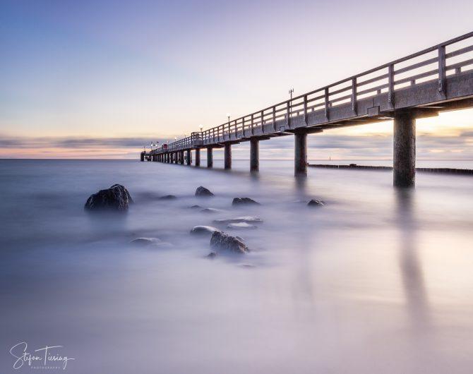 Seebrücke Kühlungsborn Sunrise