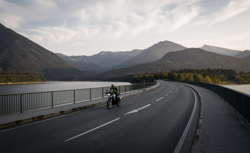 Brücke über den Sylvensteinsee